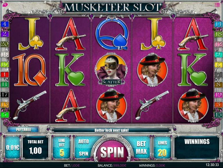 Musketeer Gameplay