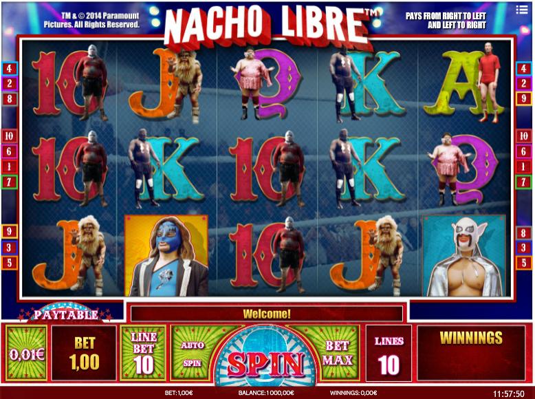 Nacho Libre Gameplay