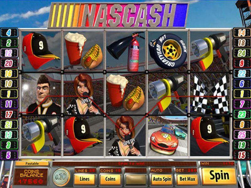 Nascash Slot Bonus