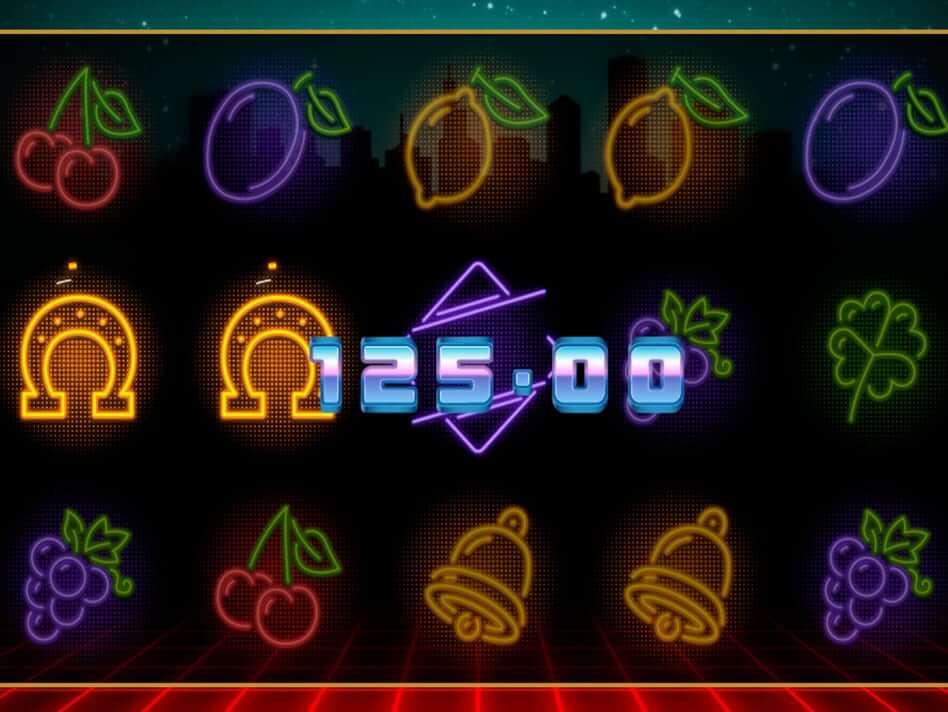 Neon Fruit Cityscape Slot Bonus