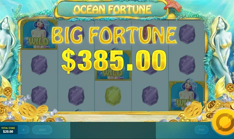 ocean fortune gameplay