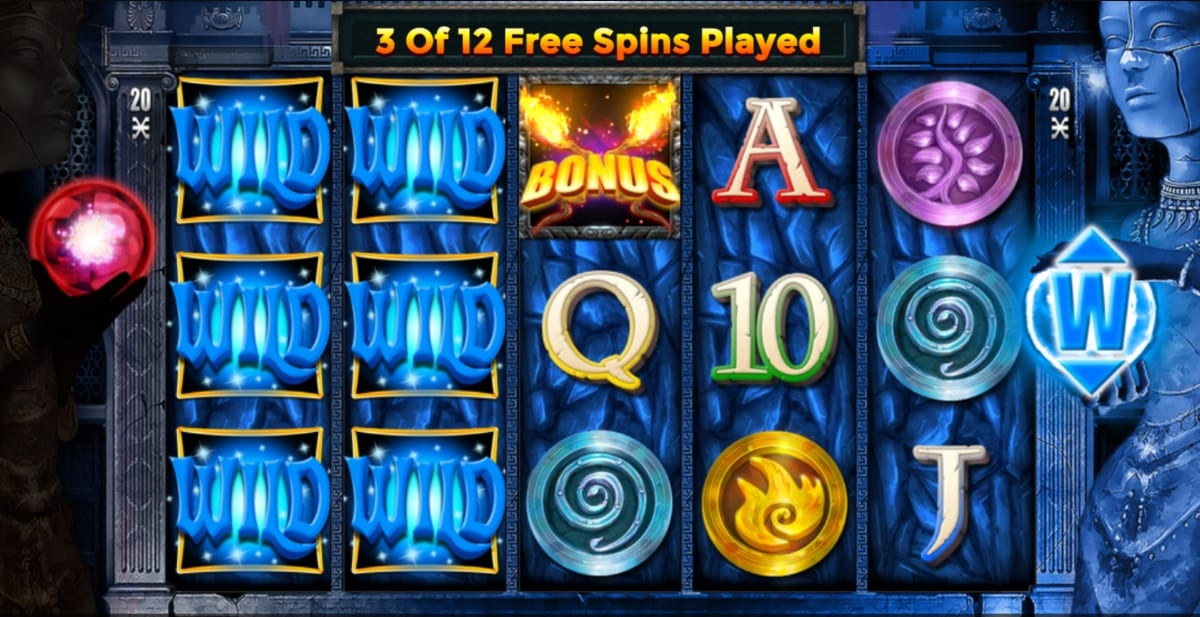 Temple of Light Slots Gameplay