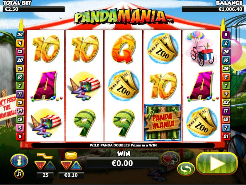Pandamania Slot Game Gameplay