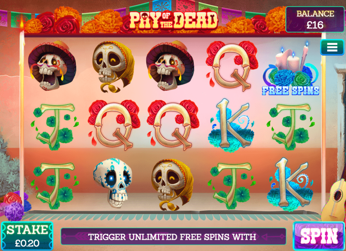 Pay of the Dead Slot Bonus