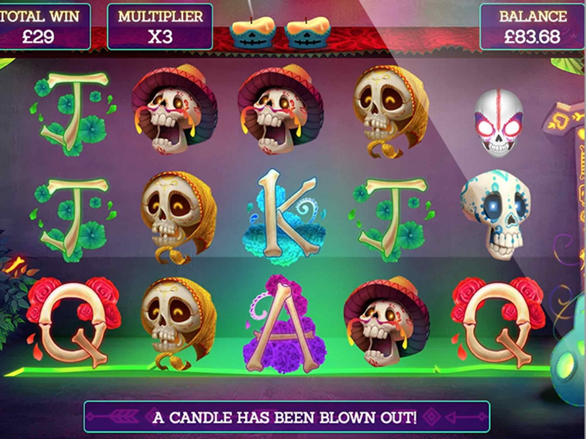 Pay of the Dead Slot Gameplay