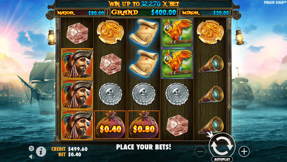 Pirate Gold Slot Bonus