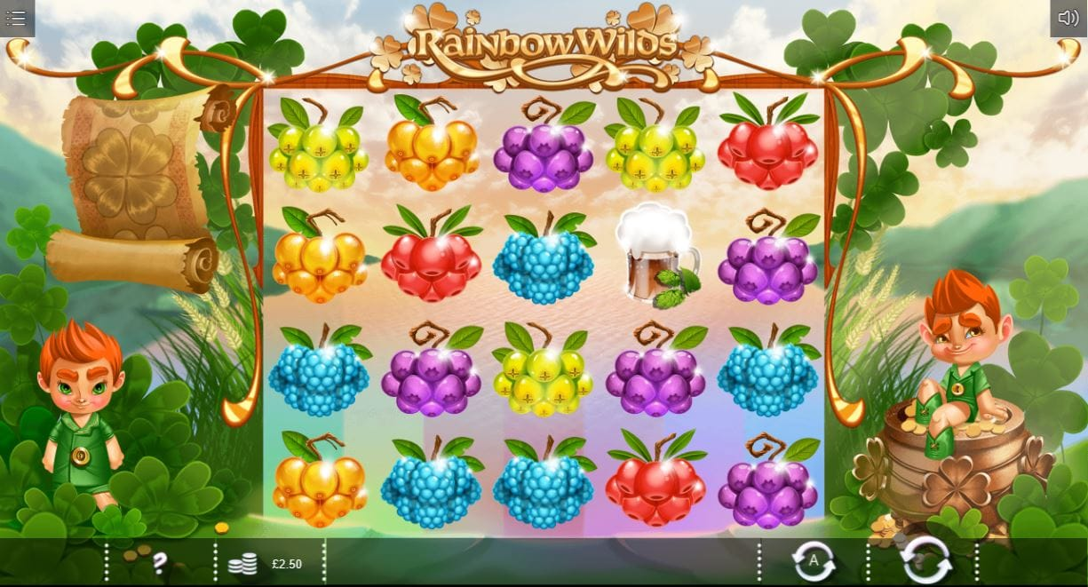 rainbow wilds gameplay