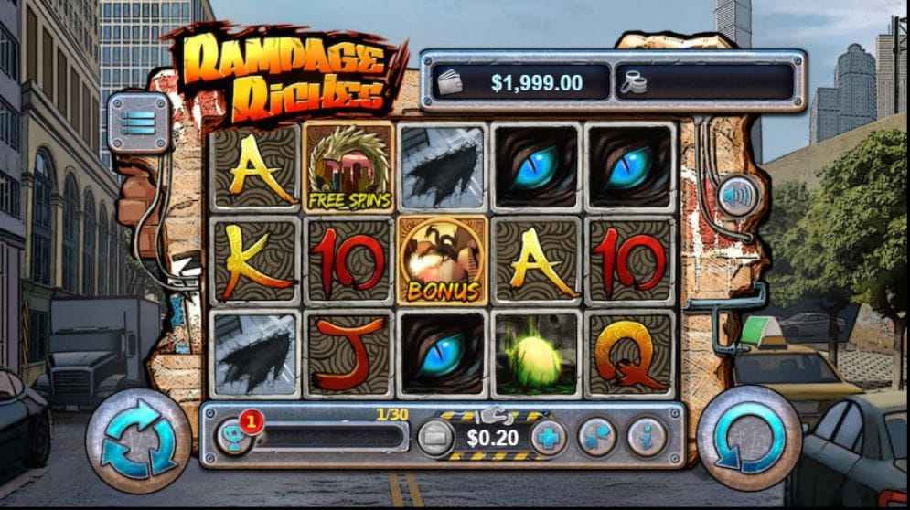 Rampage Riches Gameplay