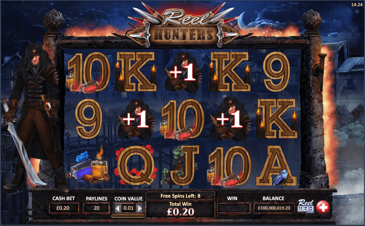 Reel Hunters Slot Bonus