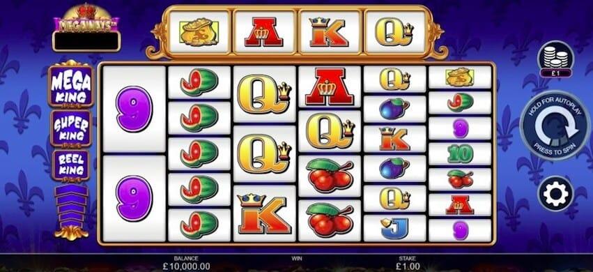 Reel King Megaways Slot Bonus
