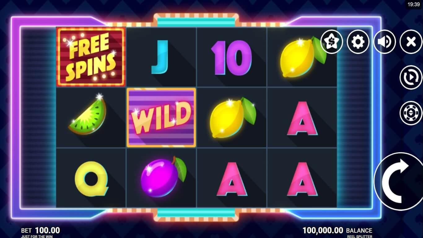 Reel Splitter Slot Gameplay