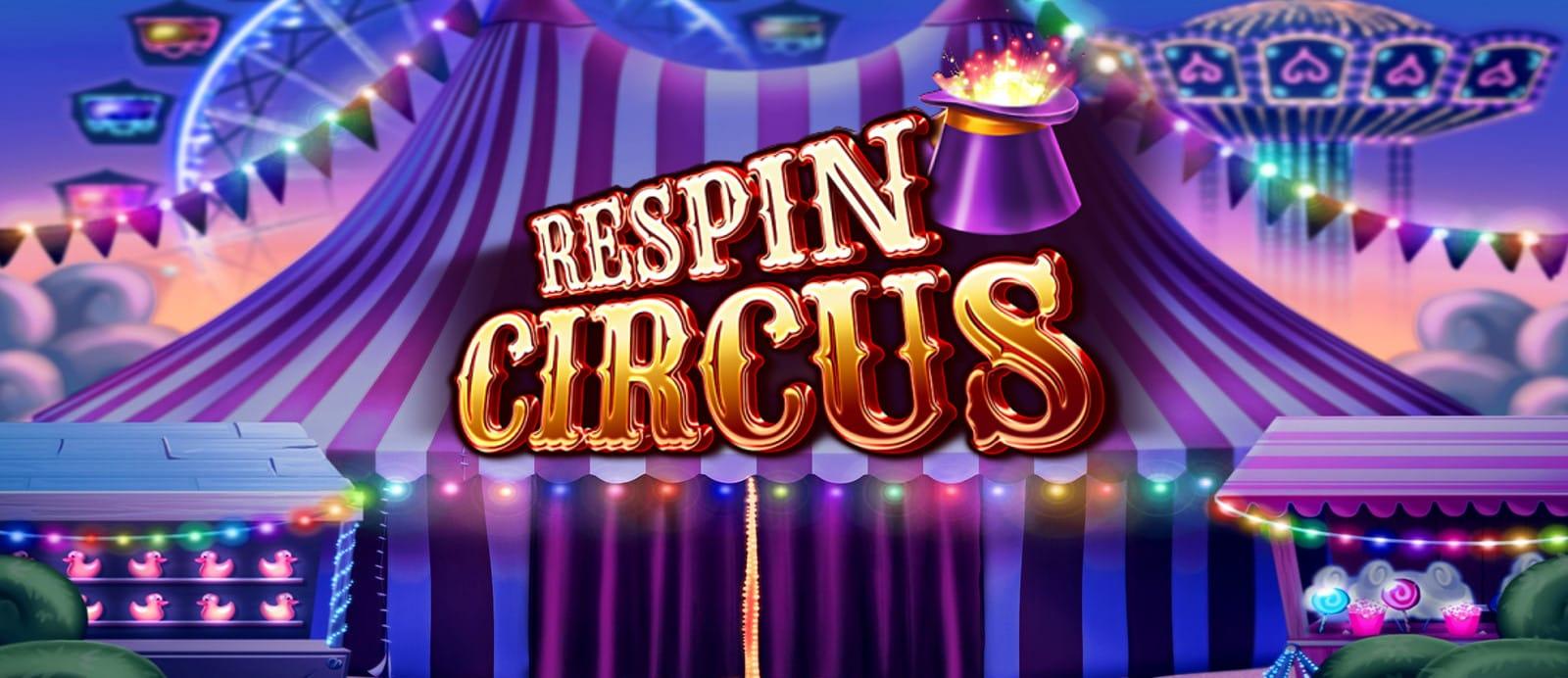 Respin Circus video Slot Logo