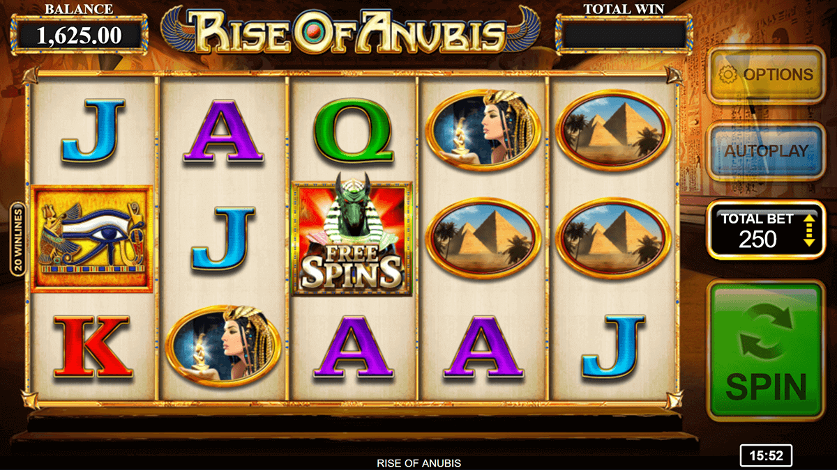 Rise Of Anubis Slot Bonus