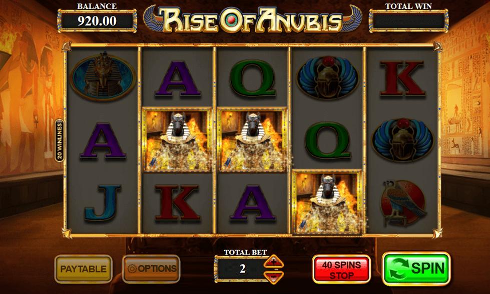 Rise Of Anubis Slot Gameplay