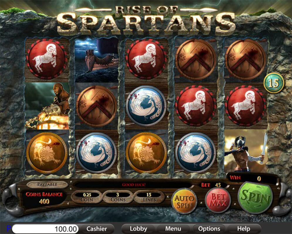 Rise Of Spartans Slot Bonus