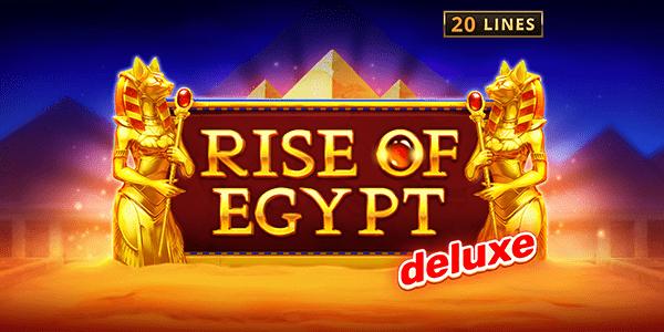 Rise of Egypt Deluxe Slot Logo Slots Baby