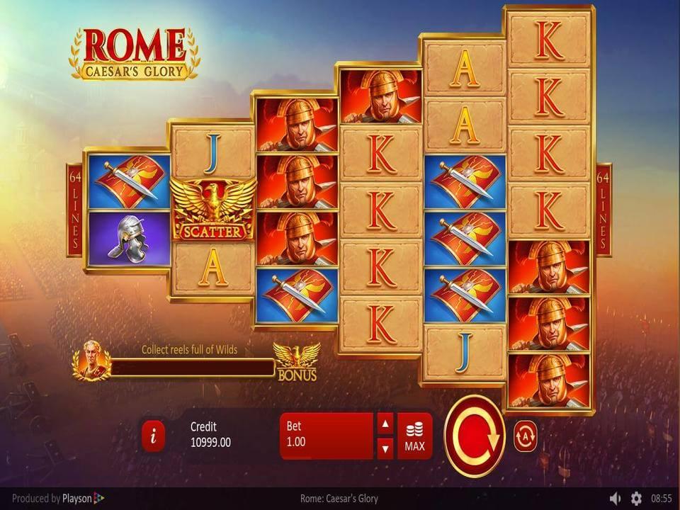 Rome: Caesar's Glory Casino Slots