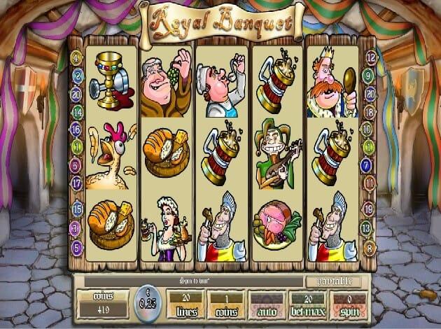 Royal Banquet Slot Gameplay
