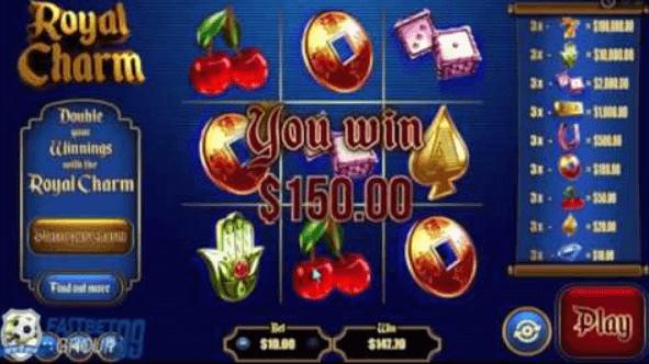 Royal Charm Slot Bonus