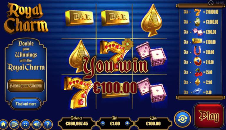 Royal Charm Slot Gameplay