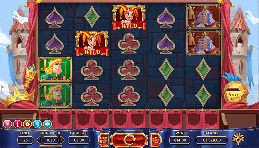 Royal Family Slot Gameplay