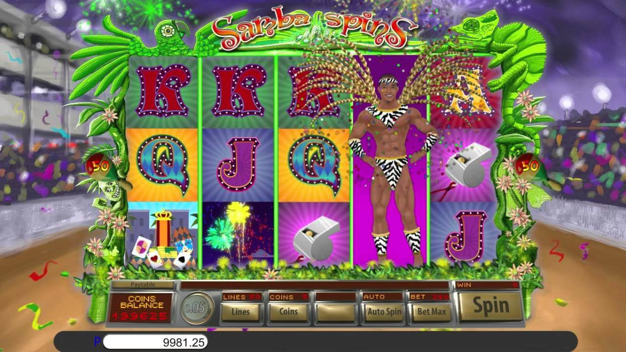 Samba Spins Slot Gameplay