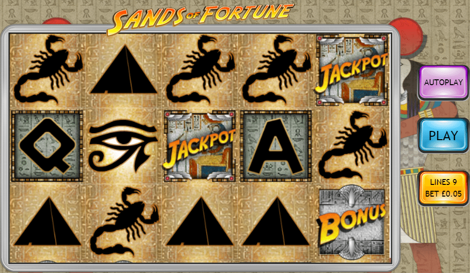 Sands of Fortune Screenshot