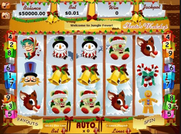 Santas Workshop Slot Bonus