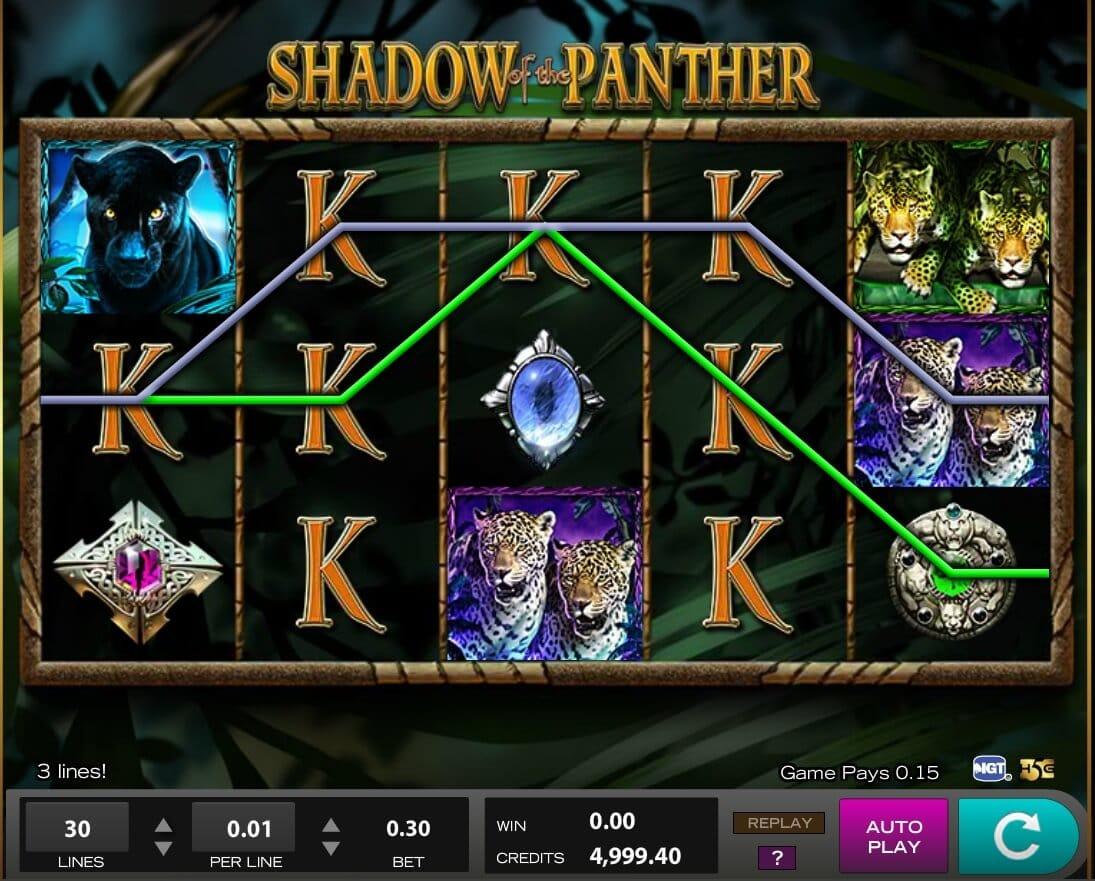 Shadow of the Panther Slot Bonus
