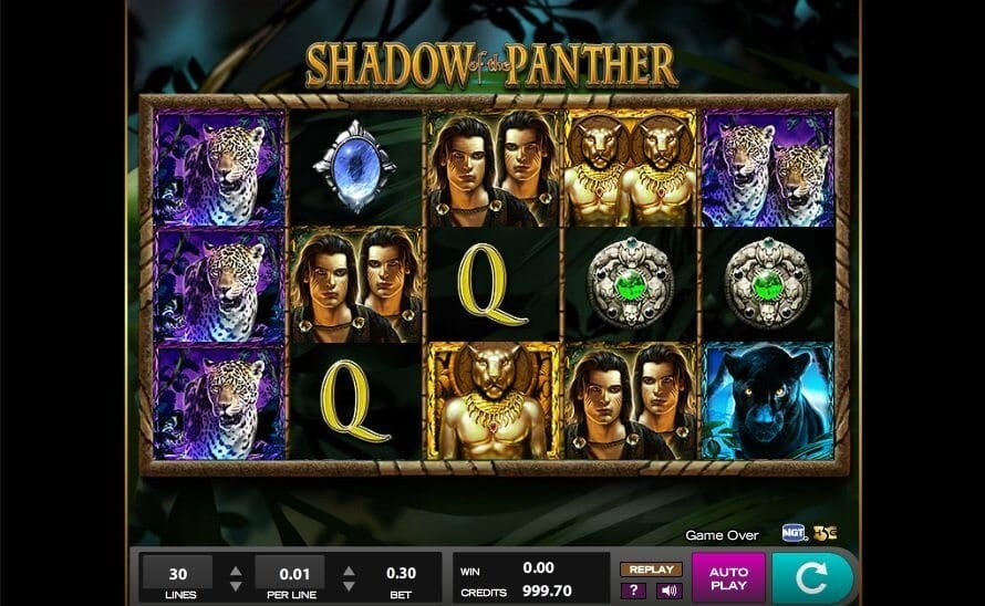 Shadow of the Panther Slot Gameplay