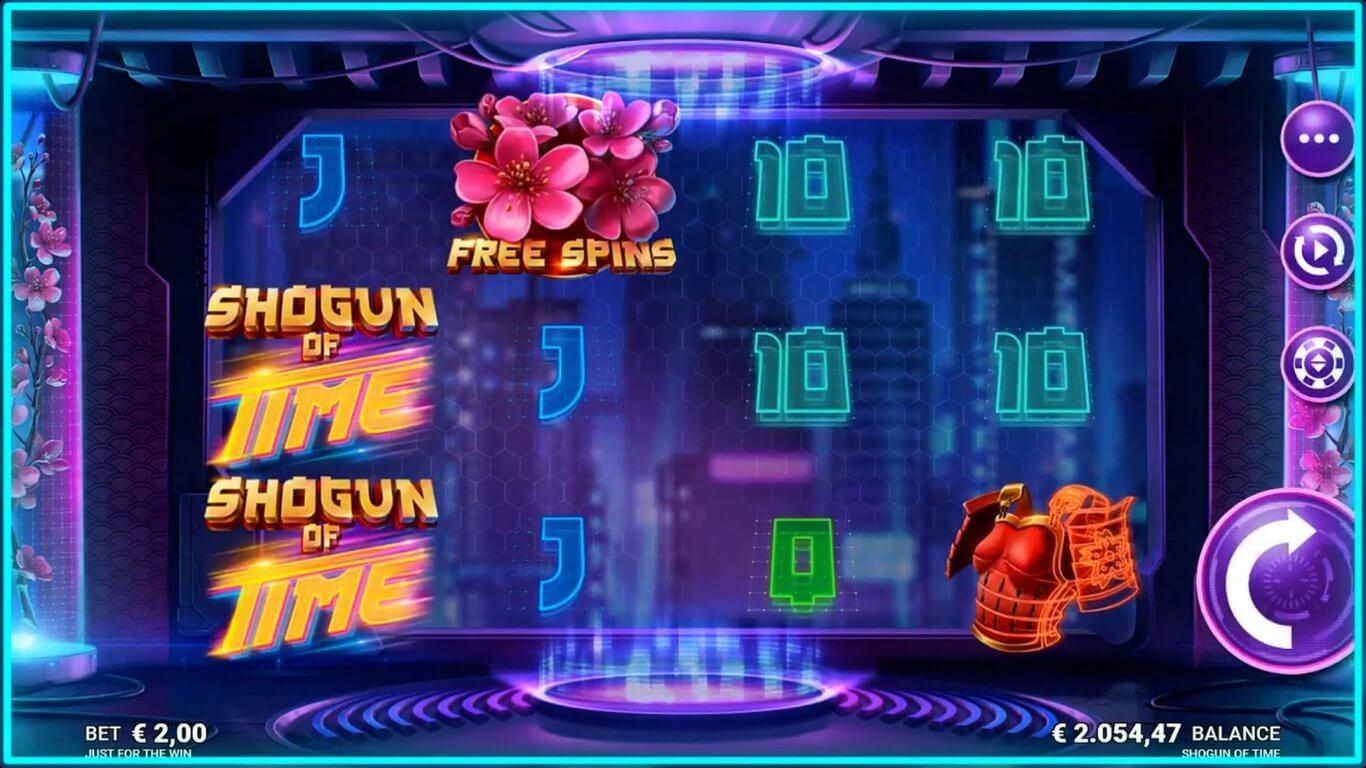 Shogun of Time Slot Gameplay