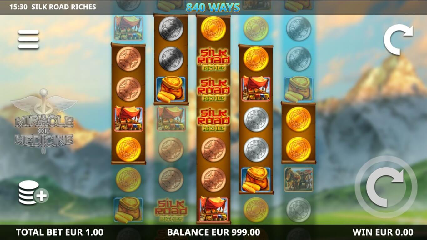Silk Road Riches Slot Bonus