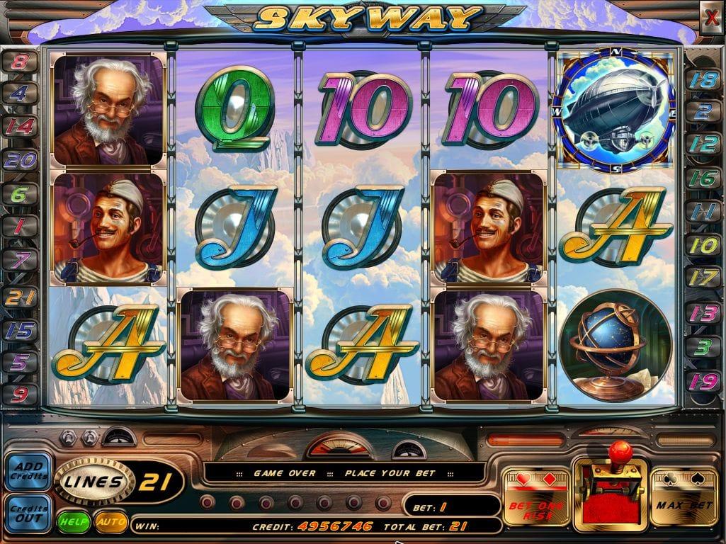 skyway gameplay