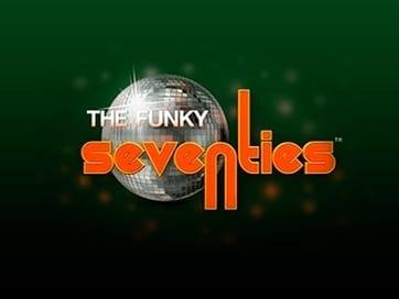 retro funky 70s logo