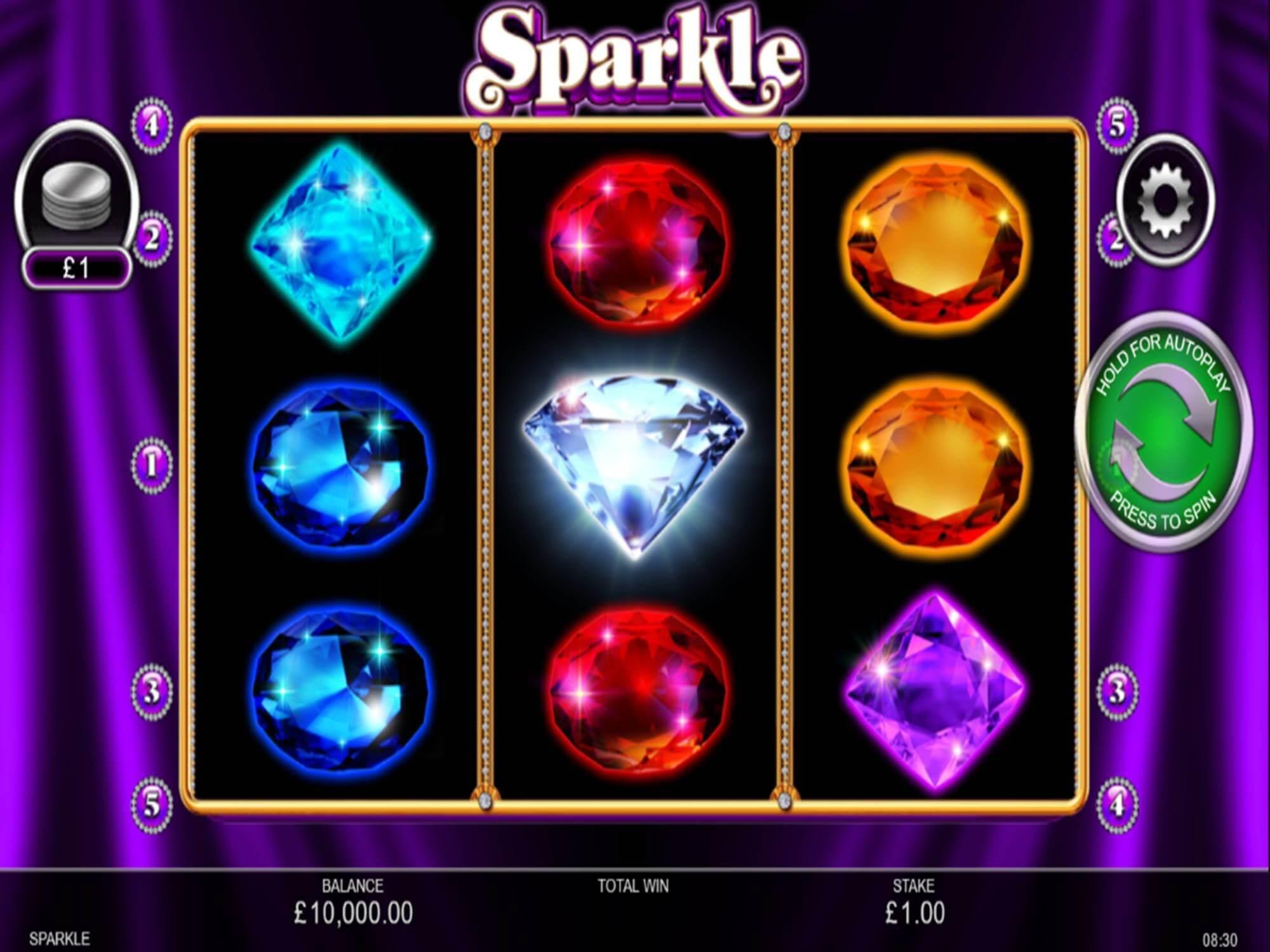 Sparkle Slot Bonus
