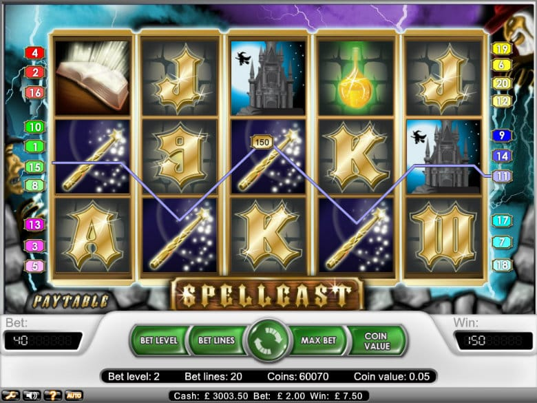 spellcast slot gameplay