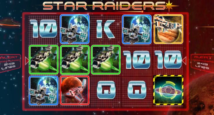 Star Raiders Slot Gameplay 2