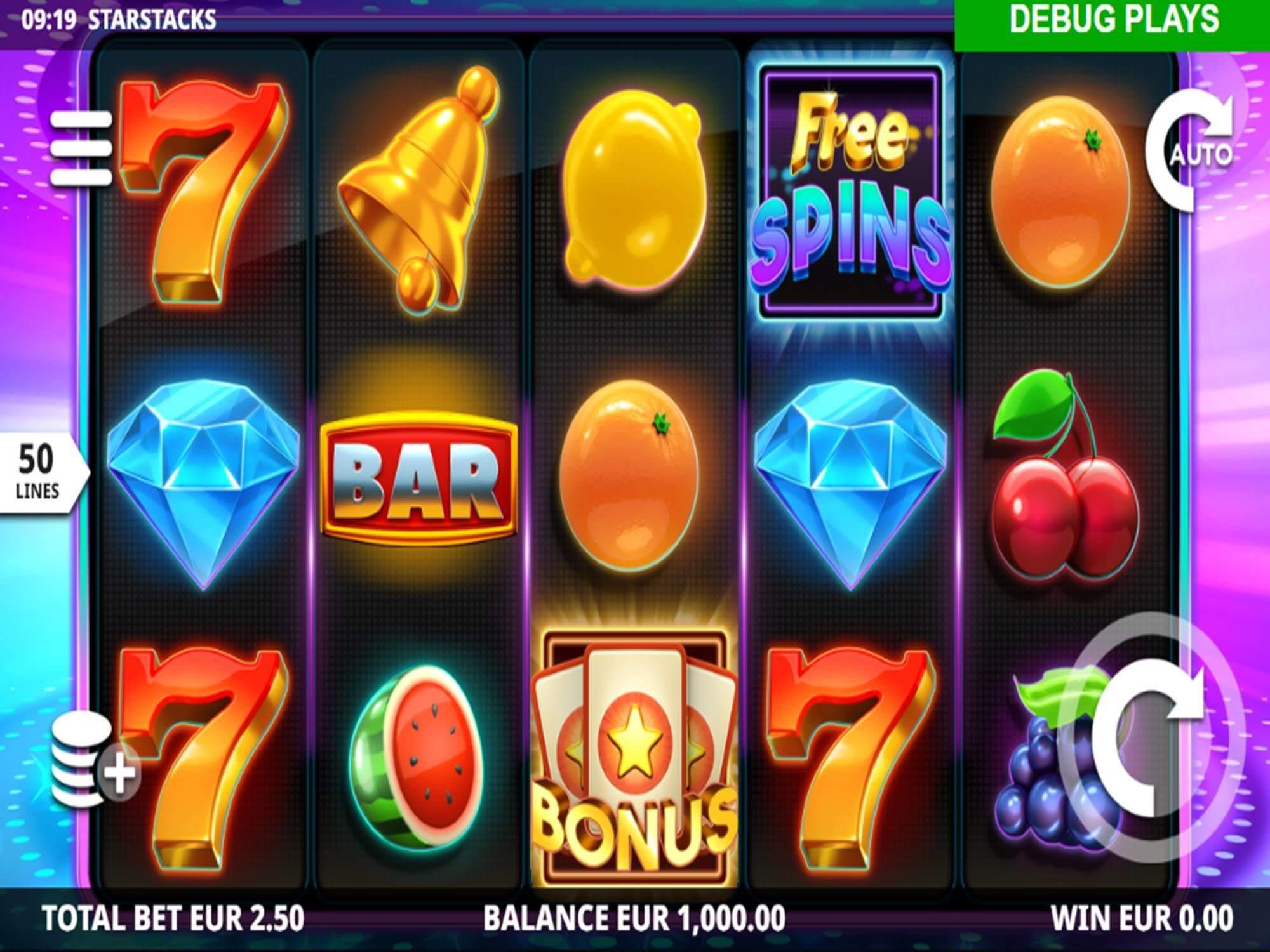 Star Stacks Slot Gameplay