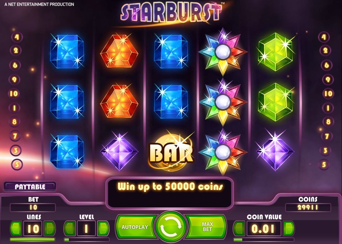 Starburst Gameplay 5