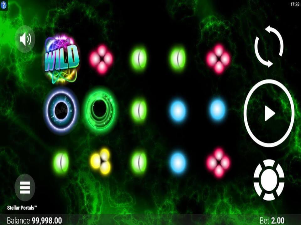 Stellar Portals Slot Gameplay