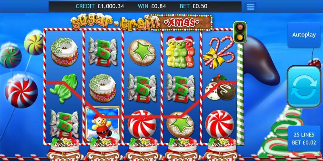 Sugar Train Xmas Slot Bonus