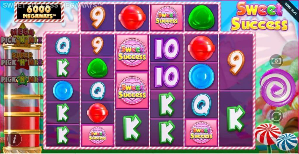 Sweet Success Megaways Slot Bonus