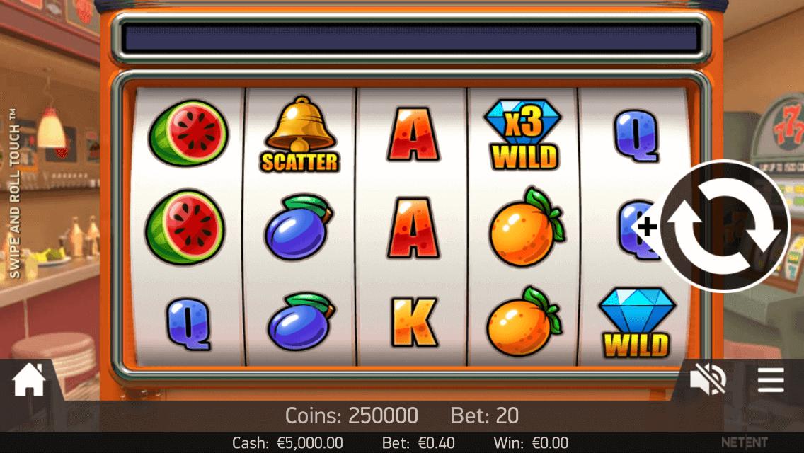 Swipe & Roll Slot Bonus