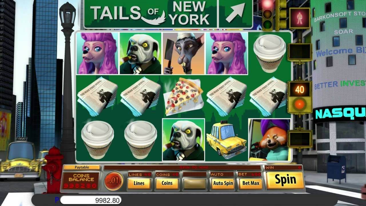 Tails of New York Slot Bonus