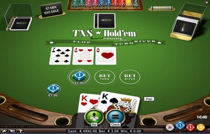 Txs Holdem Pro gameplay 2