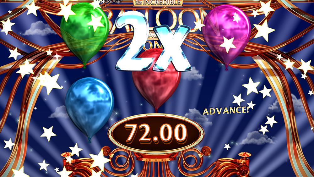 The Incredible Balloon Machine Slot Mega win