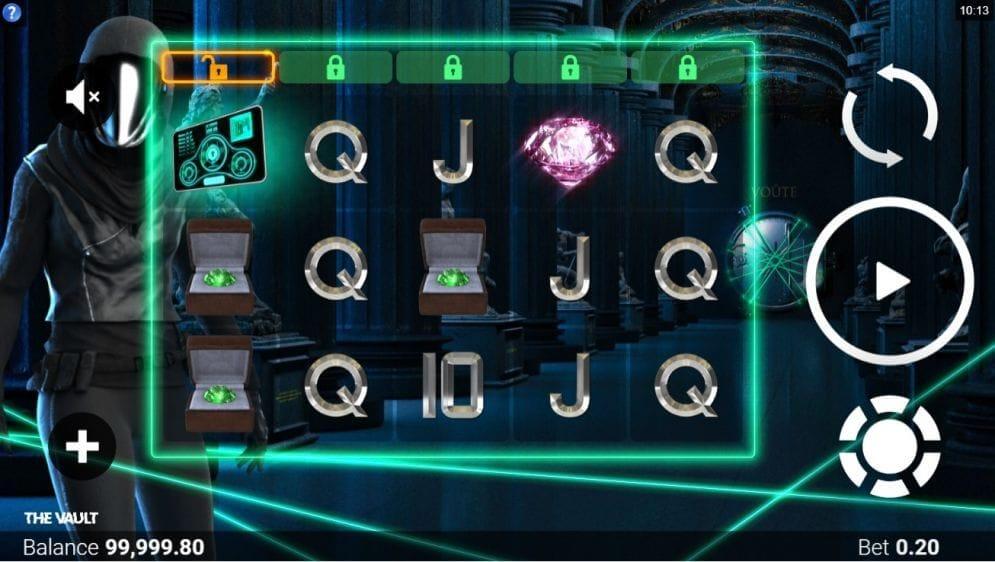 The Vault Slot Gameplay
