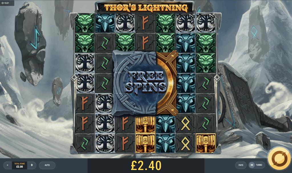 Thor's Lightning Slot Gameplay
