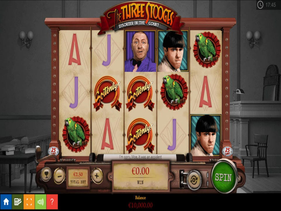 Three Stooges Slot Bonus