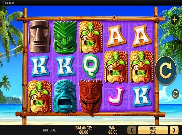 Tiki Idol Slot Gameplay